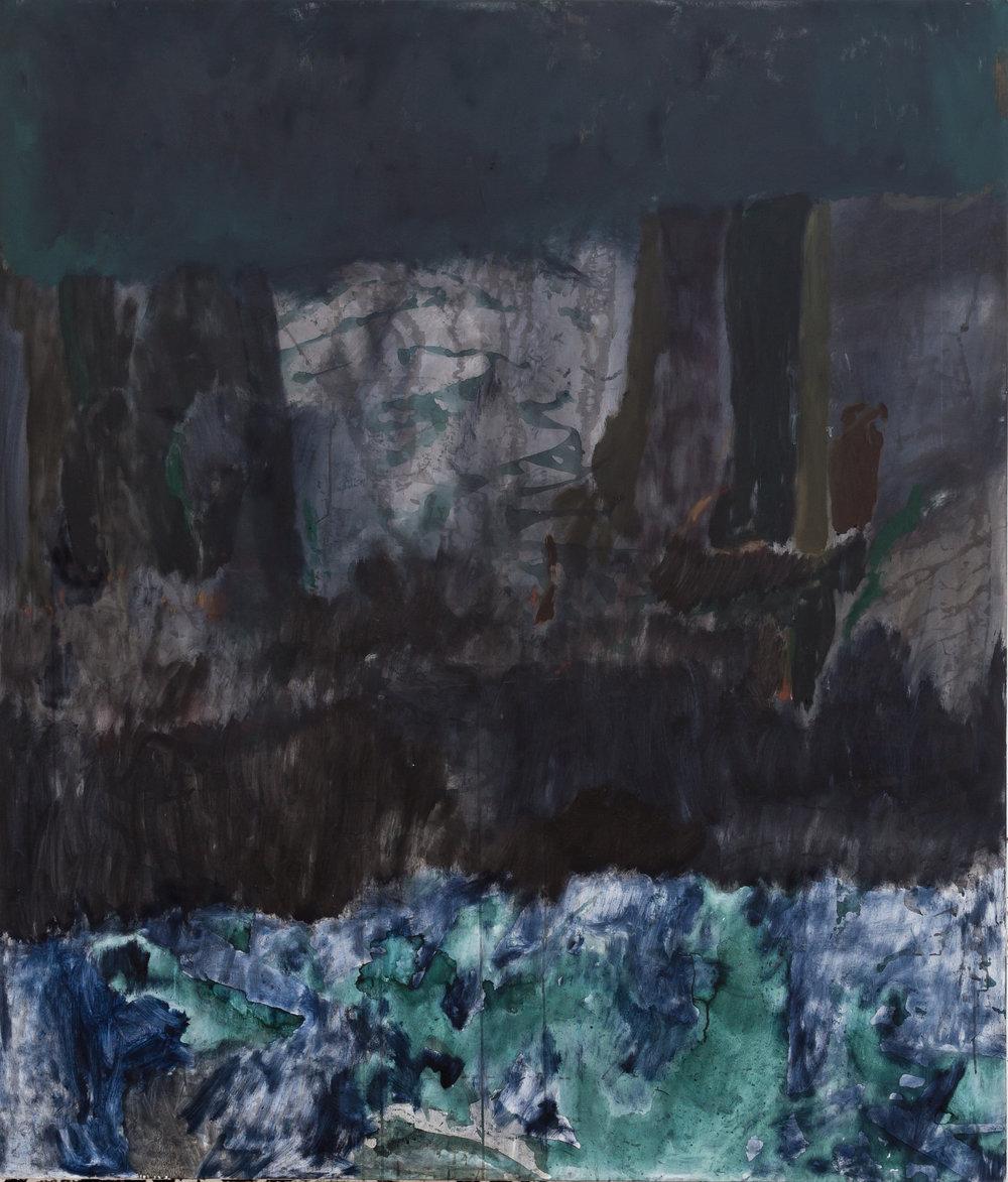 Oil on canvas 180 x 152 cm