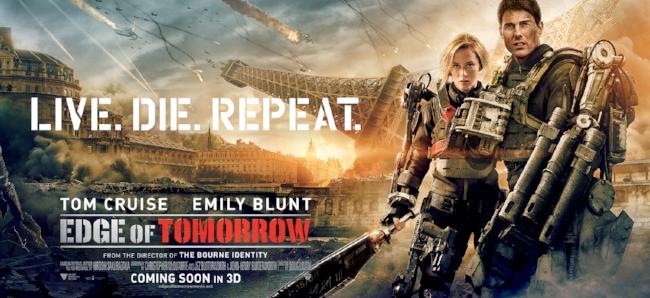 Edge Of Tomorrow 2014 Contains Moderate Peril