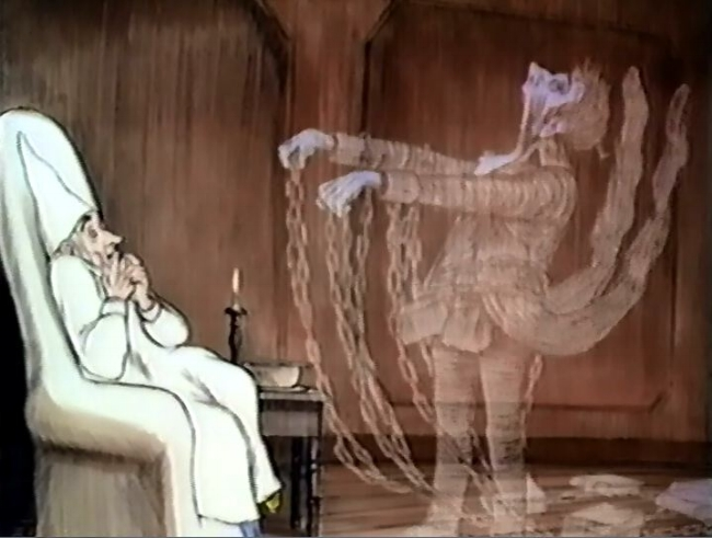 this short 25 minute animated feature realises the story superbly capturing the tone of the book and accurately reflecting the darker aspects - A Christmas Carol Animated