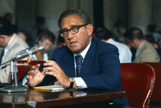 """I am Henry Kissinger and I do indeed have a sexy voice""."