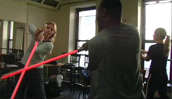 The New York Jedi lightsabre masterclass