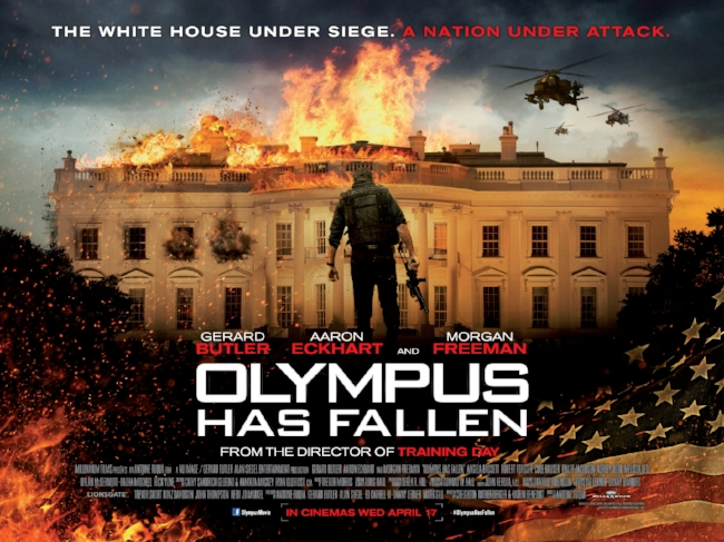 Olympus Has Fallen 2013 Contains Moderate Peril