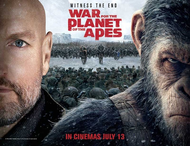 War For The Planet Of The Apes 2017 Contains Moderate Peril