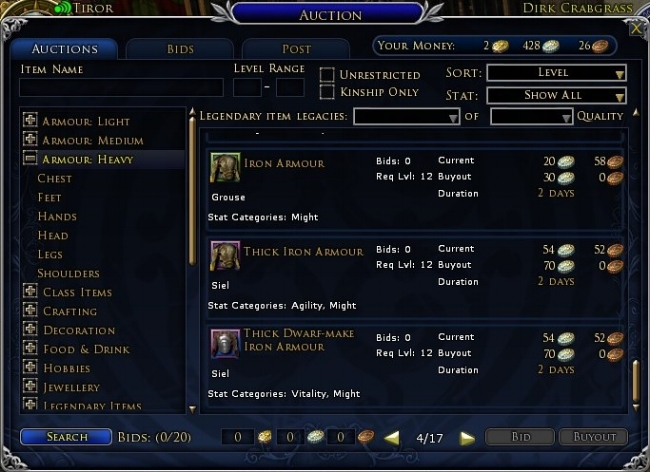 Auction House Economy Anor LOTRO.jpg
