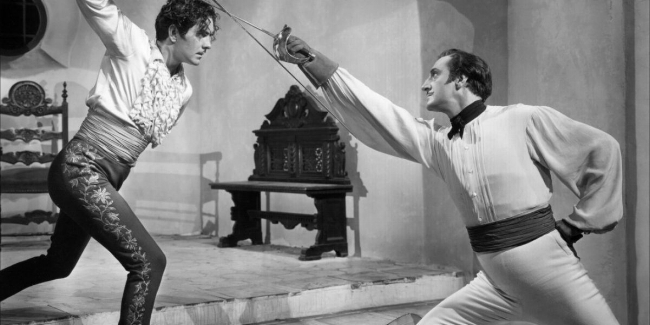 The Mark of Zorro Tyrone Power and Basil Rathbone.jpg