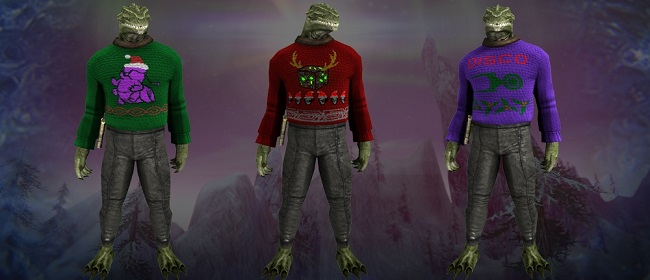 Gorns in Christmas Sweaters.jpg
