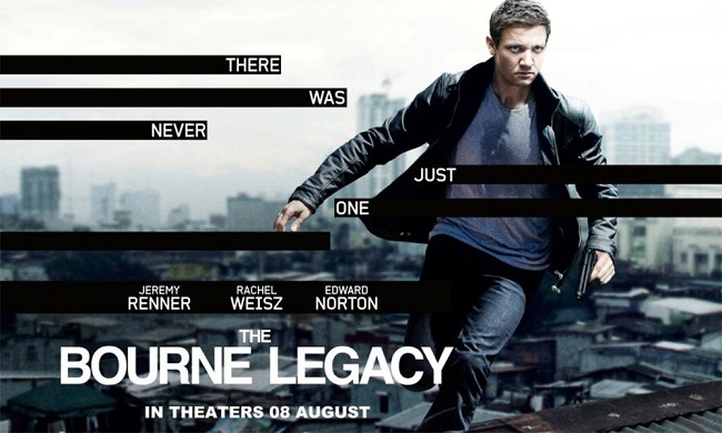 The Bourne Legacy 2012 Contains Moderate Peril