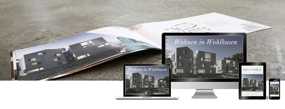 VERKAUFSDOKUMENTATIONEN     Wir bieten Ihnen für eine Immobilienvermarktung ein Komplettpaket bestehend aus     Verkaufsbroschüre,     Homepage, Flyer, Photographie und selbstverständlich 3D Visualisierungen. Mit uns haben Sie einen Ansprechpartner für die Begleitung eines Baus vom Entwurf über die Vermarktung bis hin zur Photographie des fertigen Projektes.