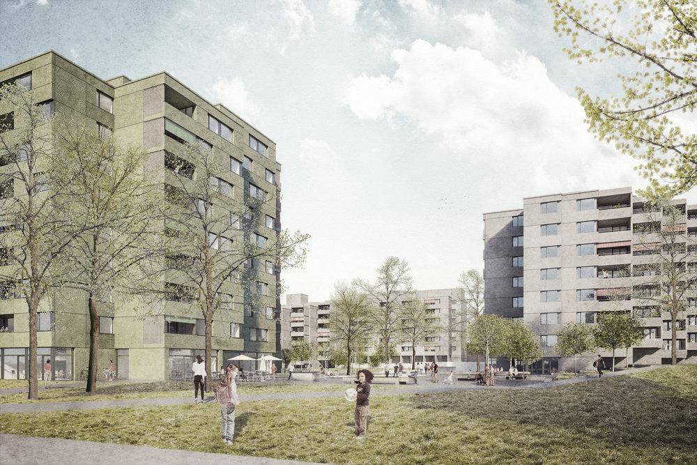 Grüzefeld, Winterthur