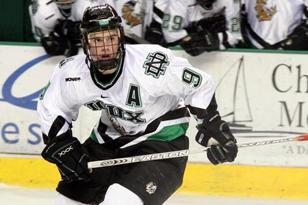 Jonathan Toews, University of North Dakota