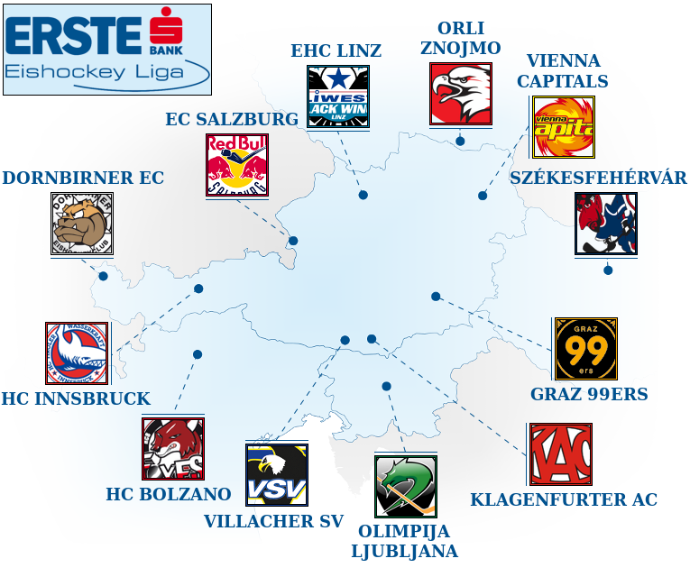 map courtesy of  eliteprospects.com