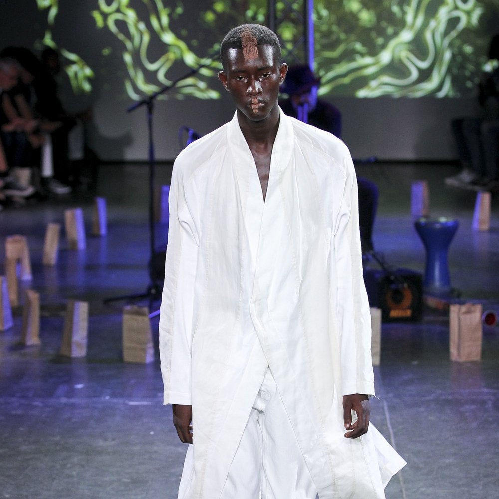 Abasi Rosborough Spring 2019 Collection Draws From Tribal Culture - fashion - fashion collection