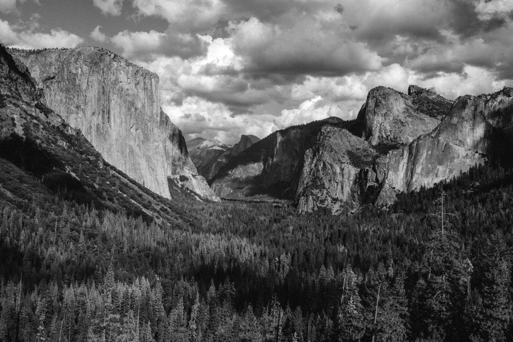 The Yosemite valley in all its majesty