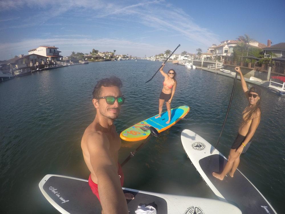 Paddle boarding #GoPro