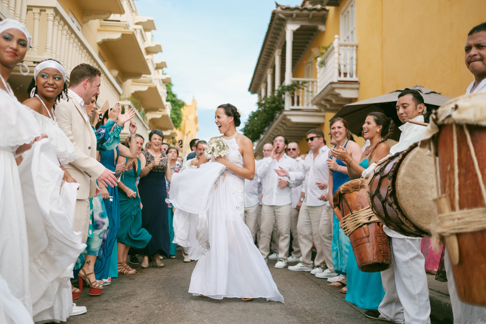 Juliana & Matt  , Historic Center,  Cartagena de Indias ,  Colombia