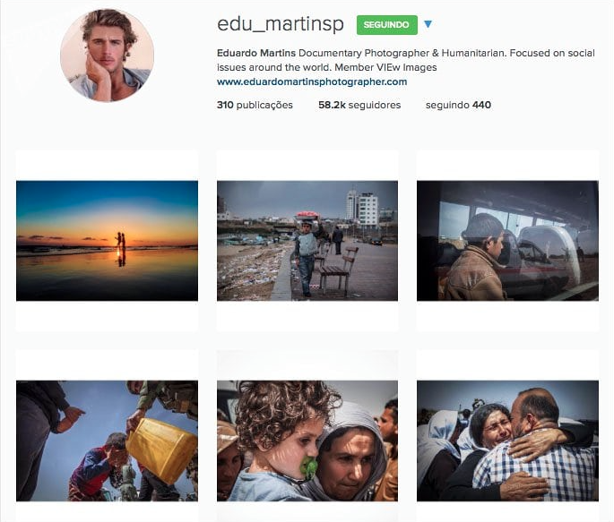 "By the time he deleted all his social media channels, just before Natasha Ribeiro from BBC broke the story, ""Eduardo Martins"" had over 127k Instagram followers."