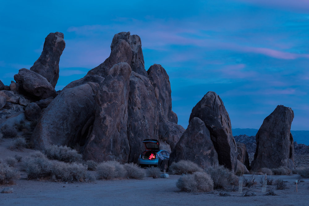 Christmas Eve @ Alabama Hills, CA