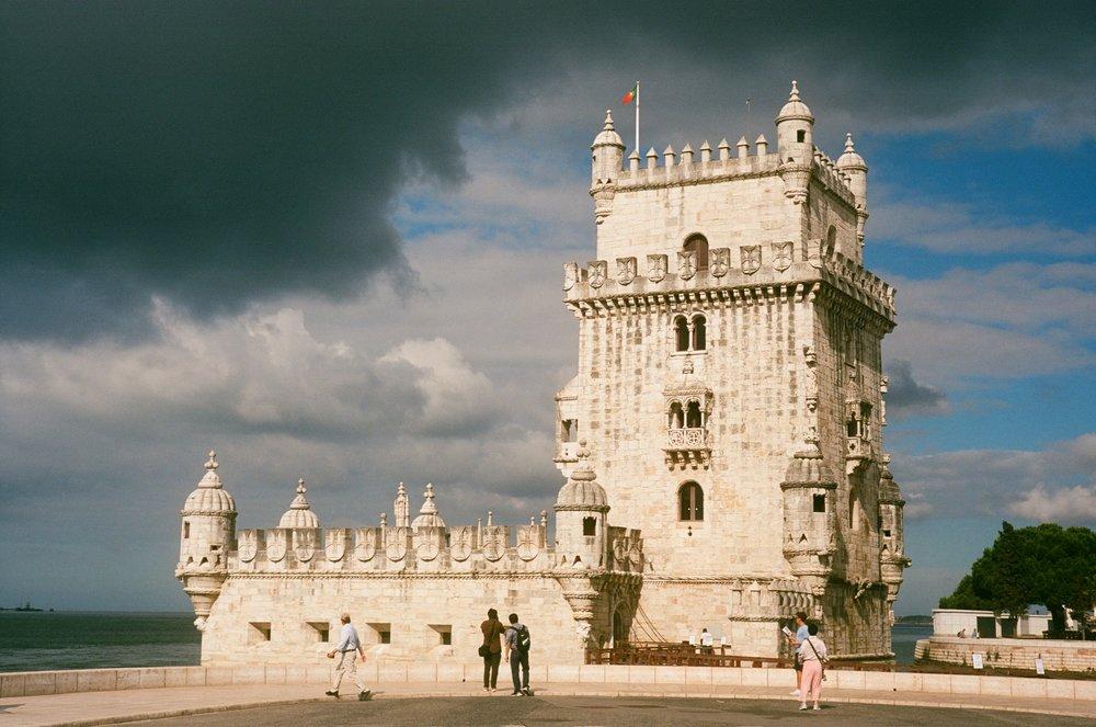 """The iconic """"Torre de Belém"""", Lisbon"""
