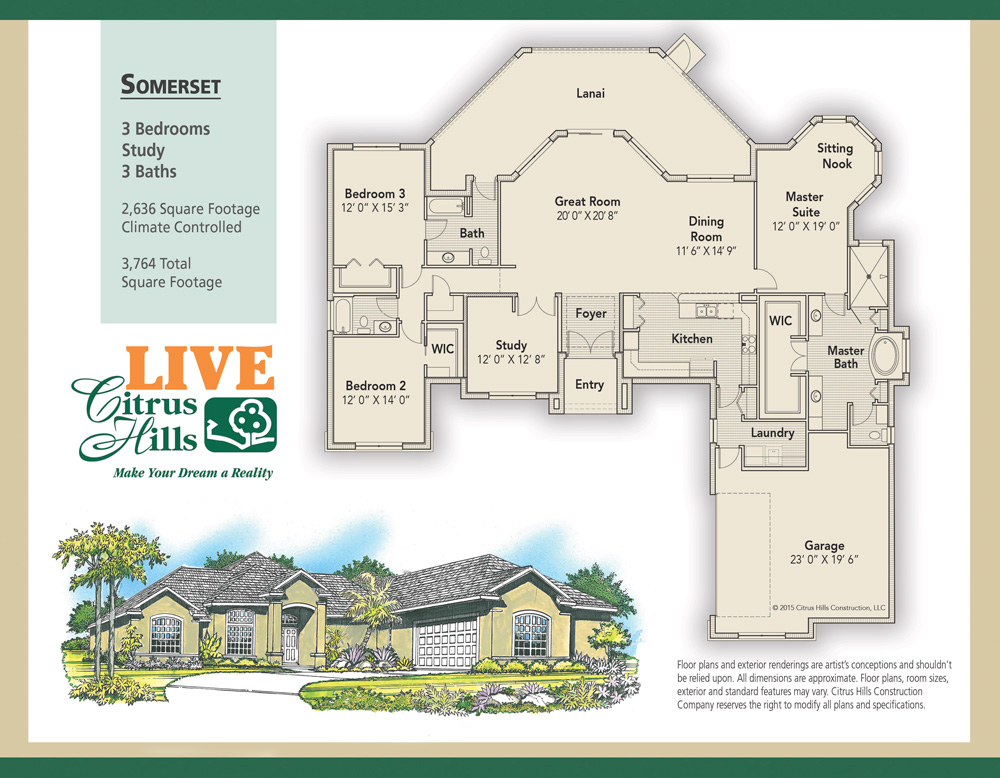 Floor Plans Amp Elevations Live The Dream