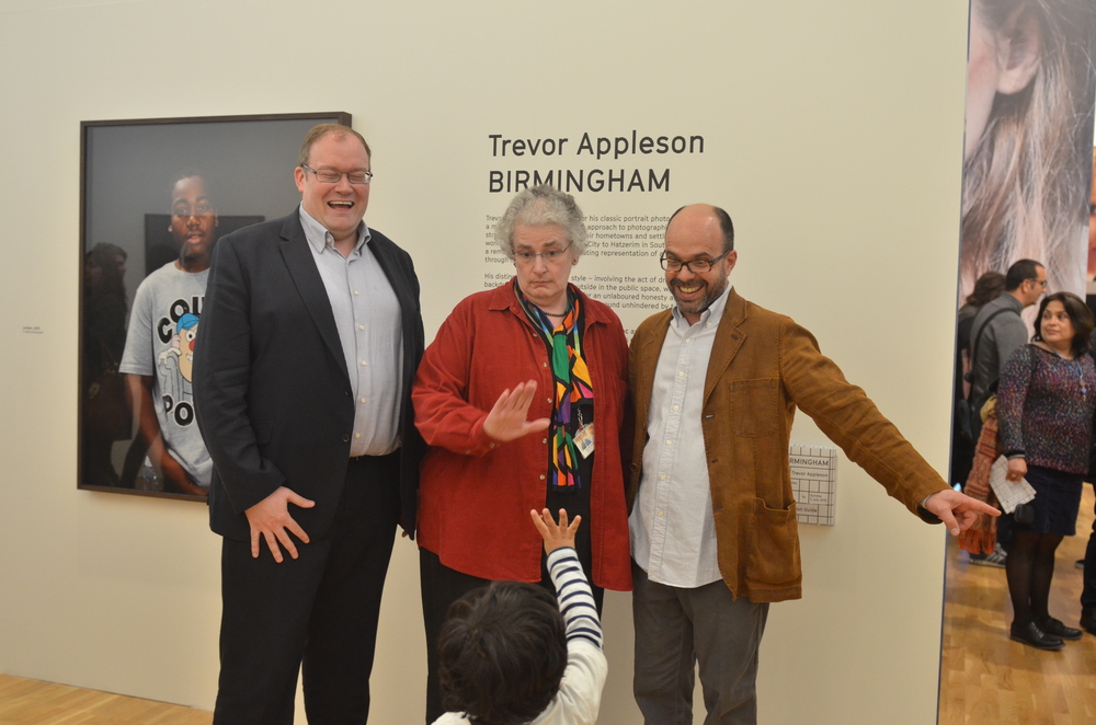 Trevor Appleson Exhibition private view
