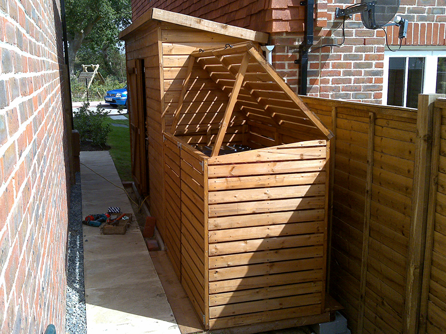 Garden Storage Solutions Trojan Timber