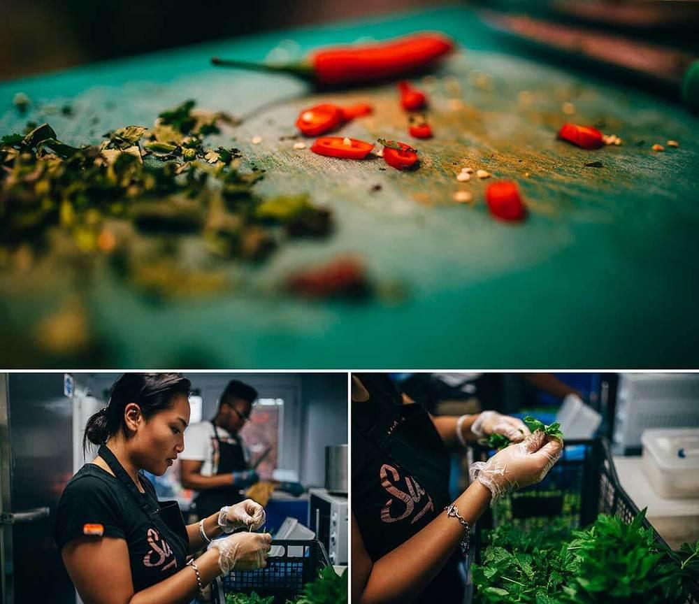 Traditional Vietnamese food from Love Fresh Vietnamese at The Artworlks