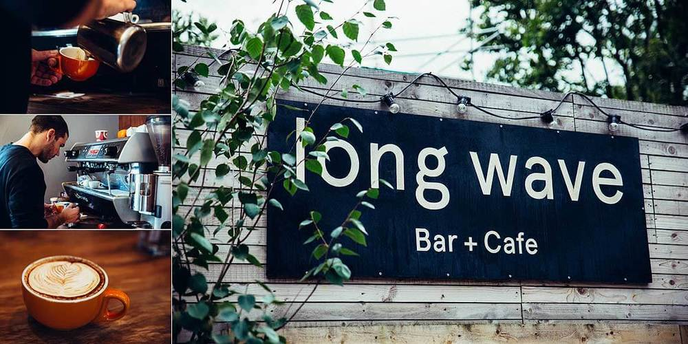 Long Wave bar and cafe at The Artworks, Elephant and Castle, London
