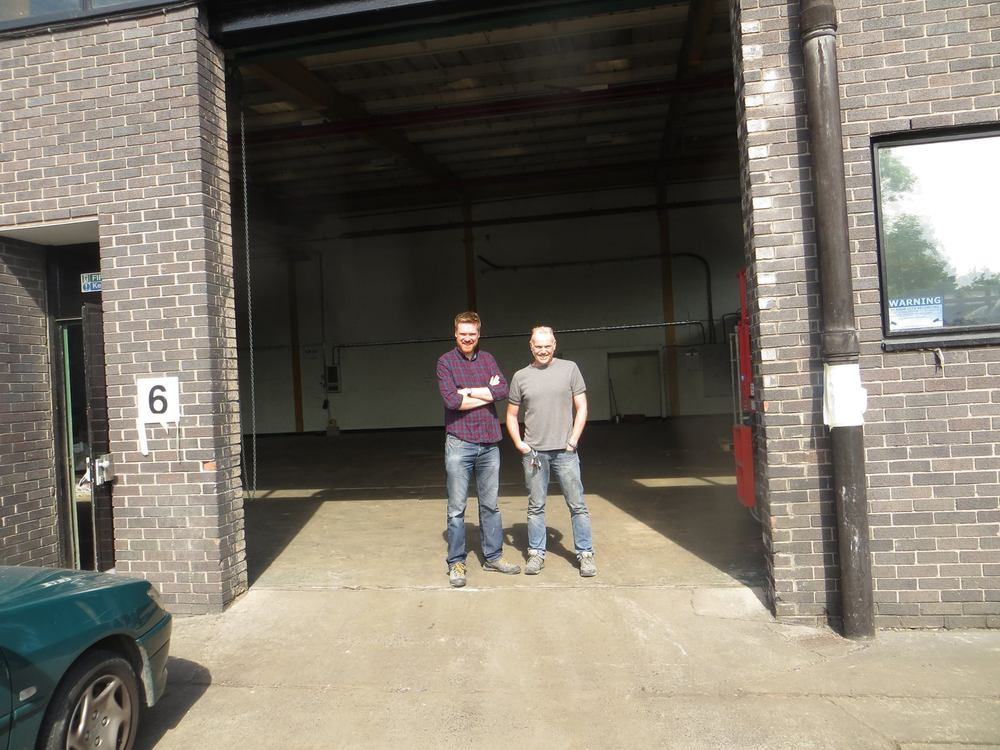 Our new home, Unit 6 Astra Business Center, Preston, England
