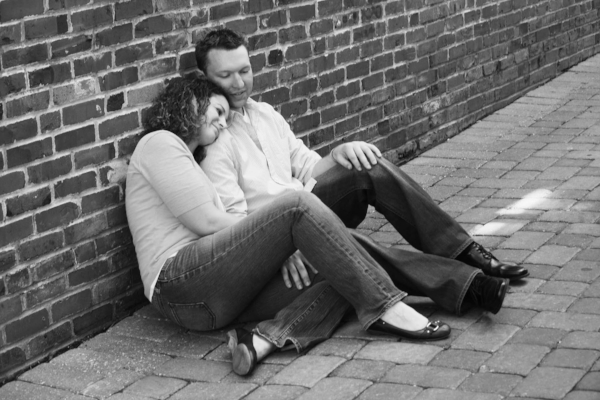 Street Engagement Photograph