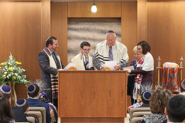bar mitzvah ceremony