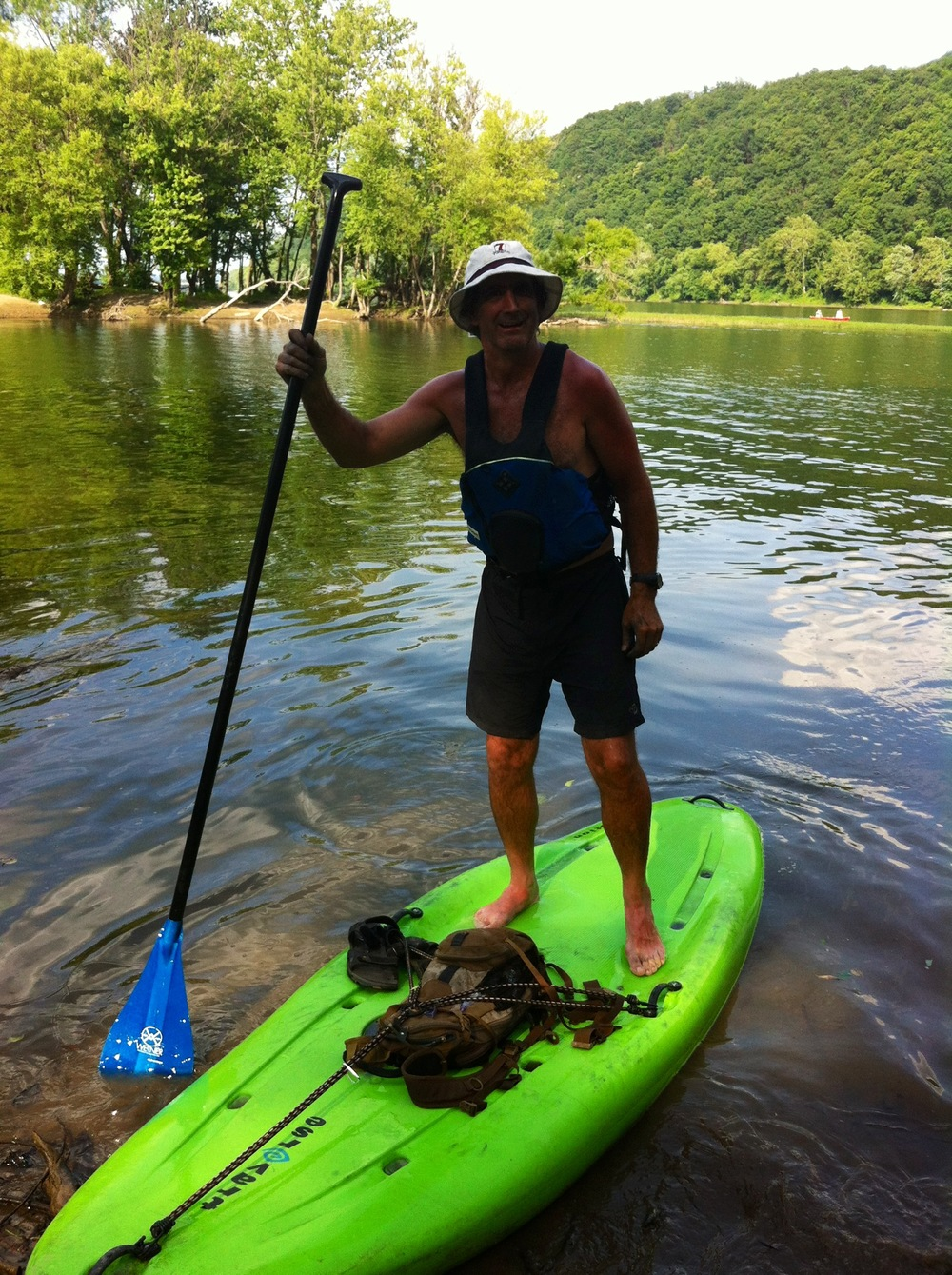 Saturday 2012 - paddle board
