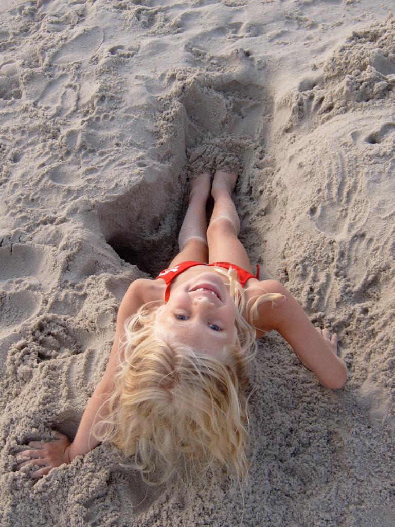 My beach girl