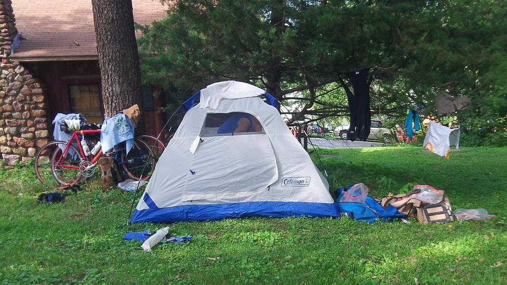 *TIP* - Shady camp