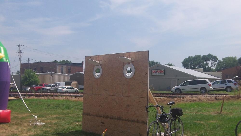 Toilet target
