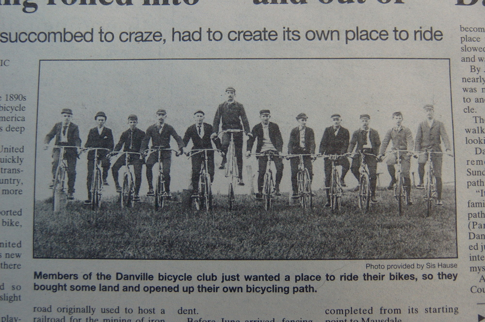 The original cyclists