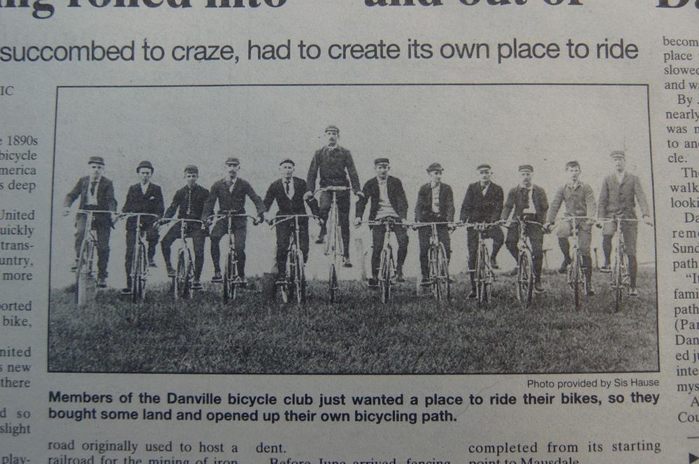 The original cyclists