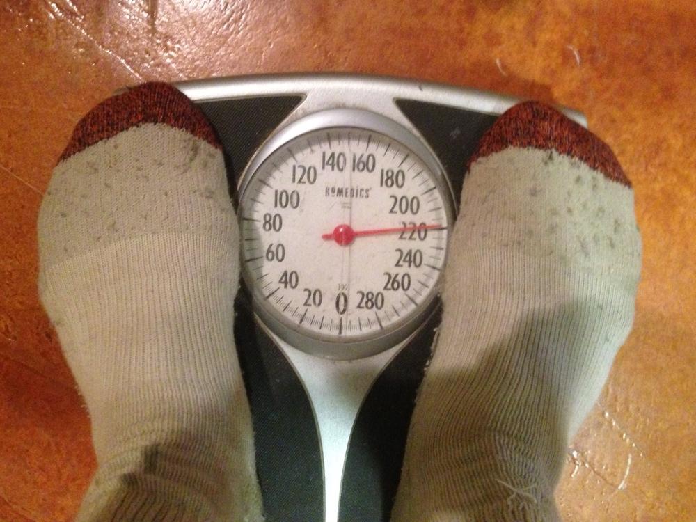 220 lbs.