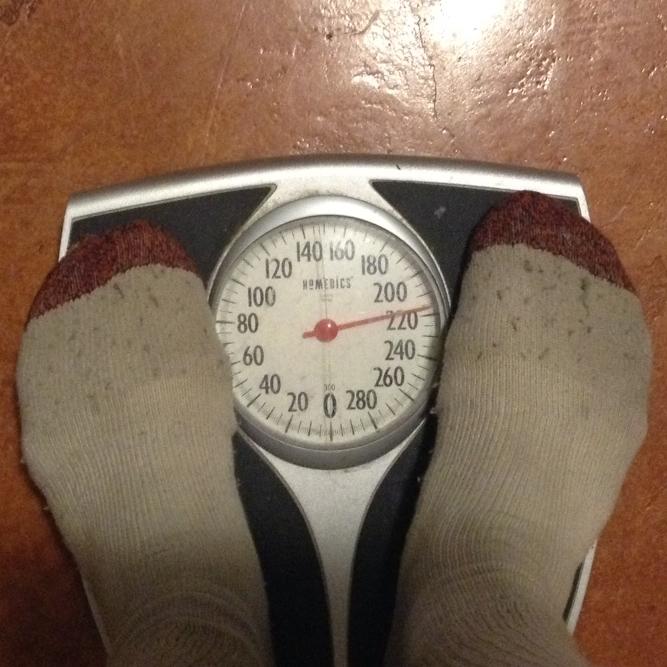 216 lbs.