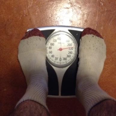 Still 215 lbs.