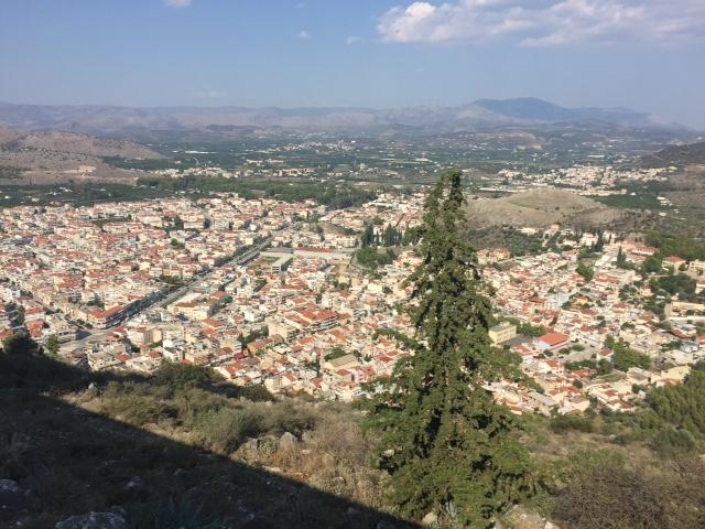 Nafplio from Palamidi