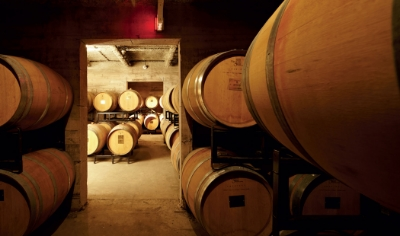 Strewn barrel cellar