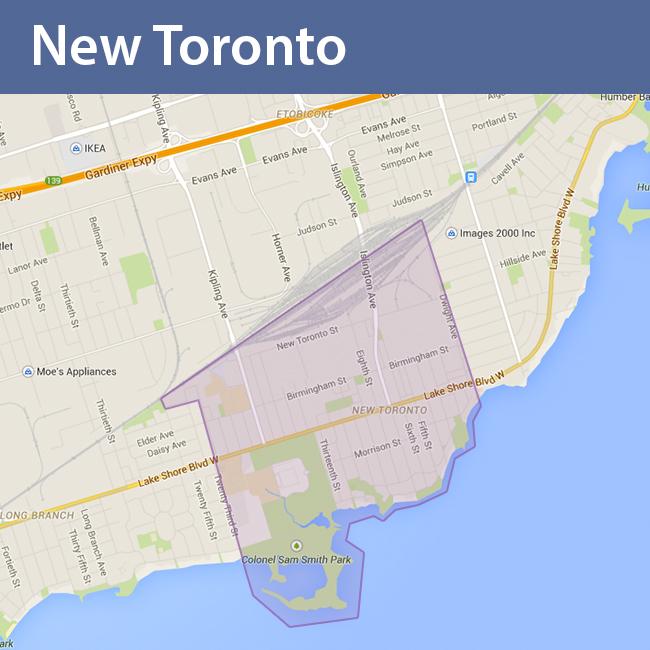 New Toronto_map