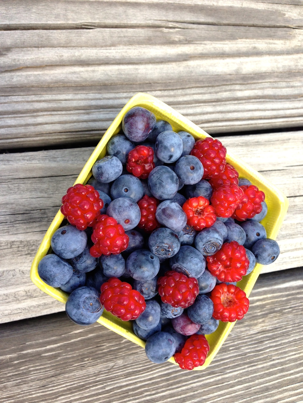 Is there anything more beautiful or more vibrant than freshly picked berries?