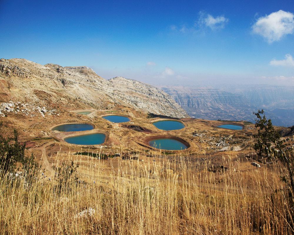 "Laqlouq Lakes , 2014, digital c print (photograph taken in Akoura, Lebanon, 2013), 24""x 30"" (61 cm x 76.2 cm)"