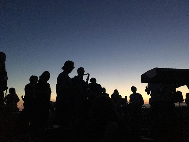 #berlin #sunset #summernight #music #jam #session