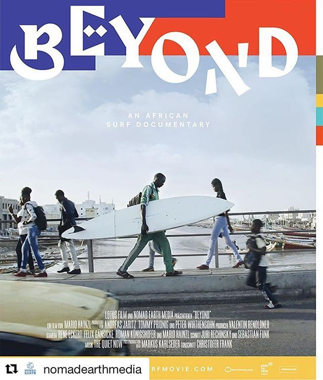"Following this project for awhile and happy to read it's become reality! Really looking forward. Check out @nomadearthmedia and the dates for their upcoming african surf docu ""Beyond!"" #africa #Senegal #africancinema #surf #surfafrica #beyondmovie #catchthewave #future"