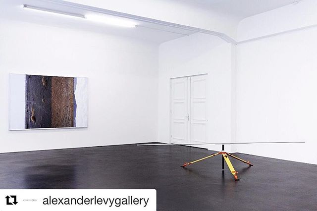 Photos for Felix Kiessling's exhibition @alexanderlevygallery. Don't miss it!!!!! ・・・ Felix Kiessling - Neuordnung II Sep 09 - Nov 04, 2017 at alexander levy, Berlin #felixkiessling #alexanderlevygallery #exhibition #berlin #repost