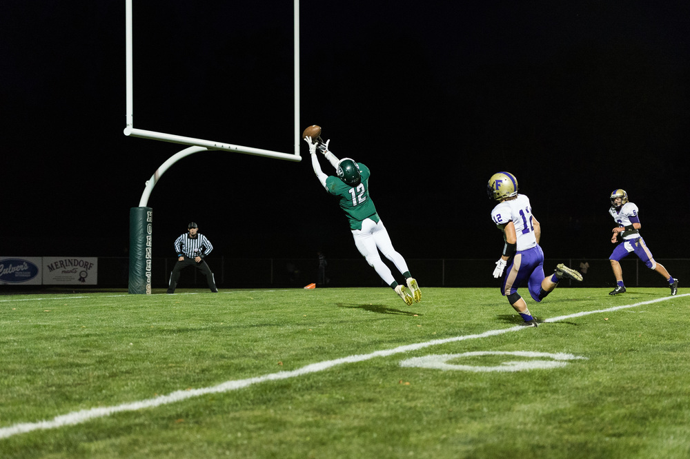 2015 Homecoming Williamston Hornets Varsity Football vs Fowlerville