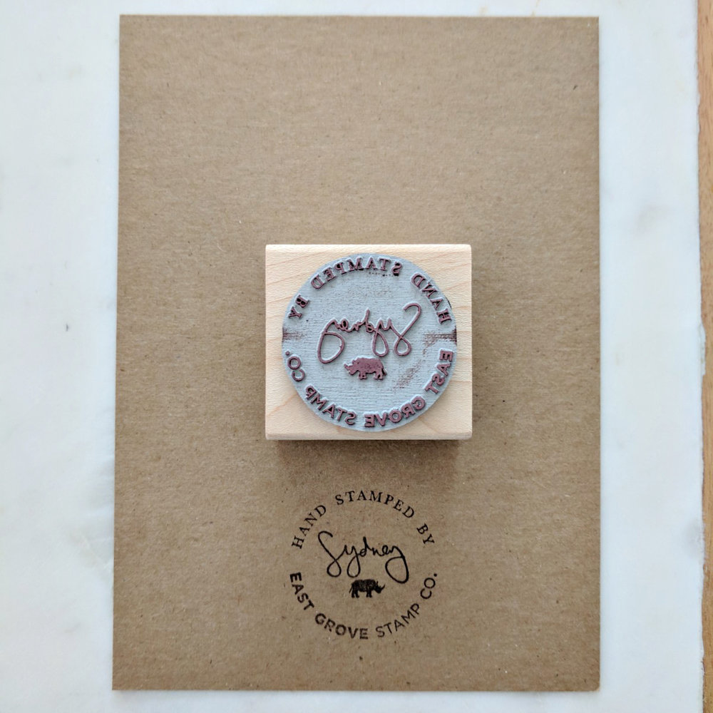 Prints - Ever since we started hand stamping some of our products, I thought it would be a nice touch to