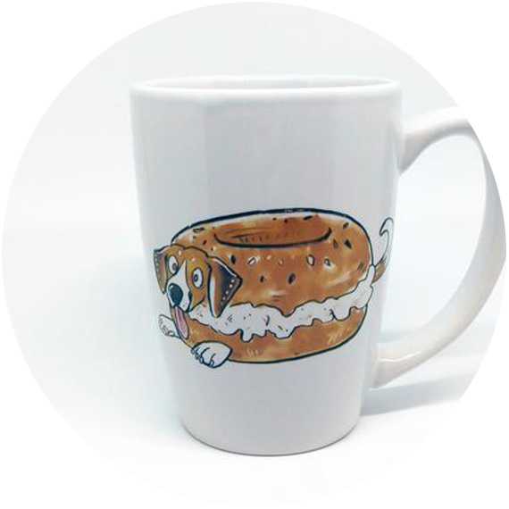 Long Dog Dandy  – if your mom has a sense of humor, the whimsical (and at times wickedly funny) mugs from Long Dog Dandy will make her smile. I have bought mugs as gifts from Julie on numerous occasions.